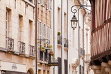 Building Facades in the Old Part of the City of Dijon, Burgundy, France, Europe Photographic Print by Julian Elliott