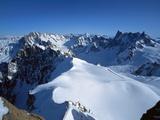 Aiguille Du Midi, Chamonix, France, Europe Photographic Print by Tom Teegan