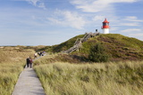 Nature Path, Lighthouse Norddorf, Amrum Photographic Print by Markus Lange