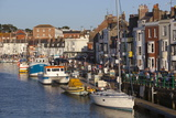 Fishing Boats in the Old Harbour, Weymouth, Dorset, England, United Kingdom, Europe Photographic Print by Stuart Black