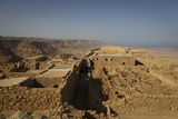 Masada Fortress, UNESCO World Heritage Site, on the Edge of the Judean Desert, Israel, Middle East Photographic Print by Yadid Levy