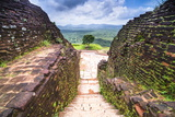Ruins at the Top of Sigiriya Rock Fortress (Lion Rock) Photographic Print by Matthew Williams-Ellis