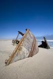 Ship Wreck, Skeleton Coast, Namibia, Africa Reprodukcja zdjęcia autor Thorsten Milse