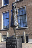 Statue of Anne Frank Outside Westerkerk, Near Her House, Amsterdam, Netherlands, Europe Photographic Print by Amanda Hall