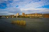 Les Bords De Garonne (Toulouse - France) Photographic Print