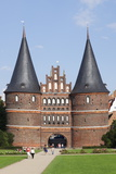 Holstentor Gate, Lubeck, UNESCO World Heritage Site, Schleswig Holstein, Germany, Europe Photographic Print by Markus Lange
