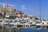 Monaco Harbour, Monaco, Mediterranean, Europe Photographic Print by Amanda Hall