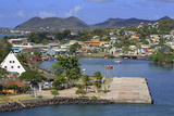 Castries Harbor, St. Lucia, Windward Islands, West Indies, Caribbean, Central America Photographic Print by Richard Cummins