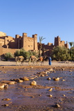 Ait Benhaddou, UNESCO World Heritage Site, Atlas Mountains, Morocco, North Africa, Africa Photographic Print by Doug Pearson