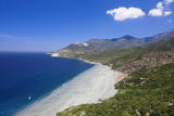 Beach of Nonza, Corsica, France, Mediterranean, Europe Photographic Print by Markus Lange