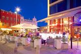 Restaurant on Vallgatan at Dusk, Gothenburg, Sweden, Scandinavia, Europe Photographic Print by Frank Fell