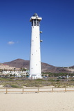 Lighthouse of Faro De Jandia, Jandia, Fuerteventura, Canary Islands, Spain, Atlantic, Europe Photographic Print by Markus Lange