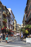Street Scene, Nice, Alpes-Maritimes, Provence, Cote D'Azur, French Riviera, France, Europe Photographic Print by Amanda Hall