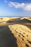 Sand Dunes of Maspalomas, Maspalomas, Gran Canaria, Canary Islands, Spain, Atlantic, Europe Photographic Print by Markus Lange