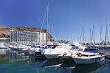 Marina, Puerto Rico, Gran Canaria, Canary Islands, Spain, Atlantic, Europe Photographic Print by Markus Lange
