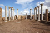 In the Central Basilica, Apollonia Cyrenaica, Libya, North Africa, Africa Photographic Print by Oliviero Olivieri