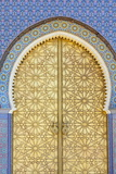 Royal Palace Door, Fes, Morocco, North Africa, Africa Photographic Print by Douglas Pearson