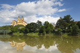 Melk Abbey Reflected in the River Danube, Wachau, Lower Austria, Austria, Europe Photographic Print by Doug Pearson