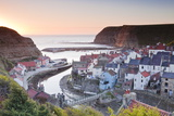 The Fishing Village of Staithes in the North York Moors Photographic Print by Julian Elliott