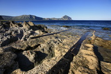 Slipway on the Golfo Di Cofano, Northwest Sicily, Italy, Mediterranean, Europe Photographic Print by David Pickford