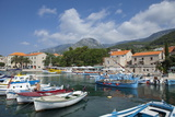 Harbour with Fishing Boats, Bol, Brac Island, Dalmatian Coast, Croatia, Europe Photographic Print by John Miller