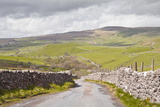 A Country Road in the Yorkshire Dales Near to Malham, Yorkshire, England, United Kingdom, Europe Photographic Print by Julian Elliott