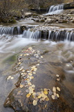 Falls on the Big Bear Creek in the Fall Photographic Print by James Hager