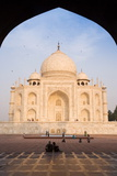 The Taj Mahal, UNESCO World Heritage Site, Agra, Uttar Pradesh, India, Asia Photographic Print by Gavin Hellier