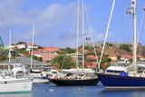 Boats in Gustavia Harbor Fotografisk tryk af Richard Cummins