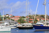 Boats in Gustavia Harbor Photographic Print by Richard Cummins