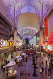 The Fremont Street Experience in Downtown Las Vegas Photographic Print by Gavin Hellier