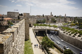 The Old City Walls, UNESCO World Heritage Site, Jerusalem, Israel, Middle East Photographic Print by Yadid Levy