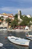 Splitska Harbour, Brac Island, Dalmatian Coast, Croatia, Europe Photographic Print by John Miller