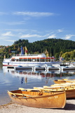 Rowing Boats at Titisee Lake, Titisee-Neustadt, Black Forest, Baden Wurttemberg, Germany, Europe Photographic Print by Markus Lange