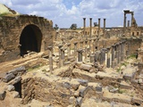 Cardo Maximus, Bosra, Syria, Middle East Photographic Print by Ken Gillham