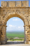 The Arch of Caracalla, Volubilis, UNESCO World Heritage Site, Morocco, North Africa, Africa Photographic Print by Douglas Pearson
