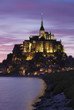 Mont Saint Michel at Sunset Photographic Print by Markus Lange