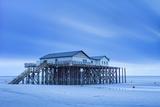 Stilt House on a Beach Photographic Print by Markus Lange
