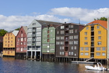 Old Fishing Warehouses, Trondheim, Sor-Trondelag, Norway, Scandinavia, Europe Photographic Print by Doug Pearson