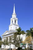 First Baptist Church, Main Street, Sarasota, Florida, United States of America, North America Photographic Print by Richard Cummins