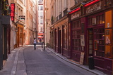 The Narrow Streets of Vieux Lyon, Lyon, Rhone, Rhone-Alpes, France, Europe Photographic Print by Mark Sunderland