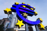 European Central Bank and Euro Symbol Photographic Print by Gavin Hellier