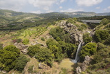 Sa'Ar Waterfall at the Hermon Nature Reserve, Golan Heights, Israel, Middle East Photographic Print by Yadid Levy