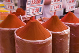 Paprika for Sale, Mercado Central (Central Market), Valencia Photographic Print by Martin Child