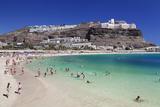 Playa De Los Amadores, Gran Canaria, Canary Islands, Spain, Atlantic, Europe Photographic Print by Markus Lange