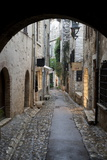 Cobbled Alleyway, Saint-Paul-De-Vence, Provence-Alpes-Cote D'Azur, Provence, France, Europe Fotodruck von Stuart Black