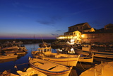 Fishing Boats at a Port, Centuri Port, Corsica, France, Mediterranean, Europe Photographic Print by Markus Lange