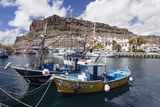 Fishing Boats at the Old Port of Puerto De Mogan Photographic Print by Markus Lange