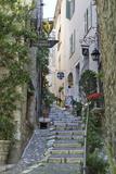 Stuart Black - Street Scene, Saint-Paul-De-Vence, Provence-Alpes-Cote D'Azur, Provence, France, Europe - Fotografik Baskı