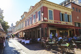 Restaurants in Cours Saleya Photographic Print by Amanda Hall